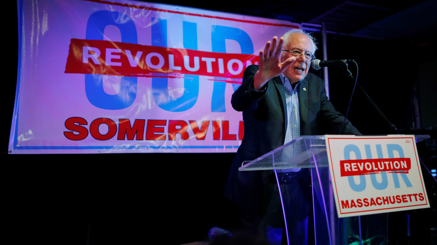 Bernie Sanders Wades Into High-Stakes Primaries For Young Progressives