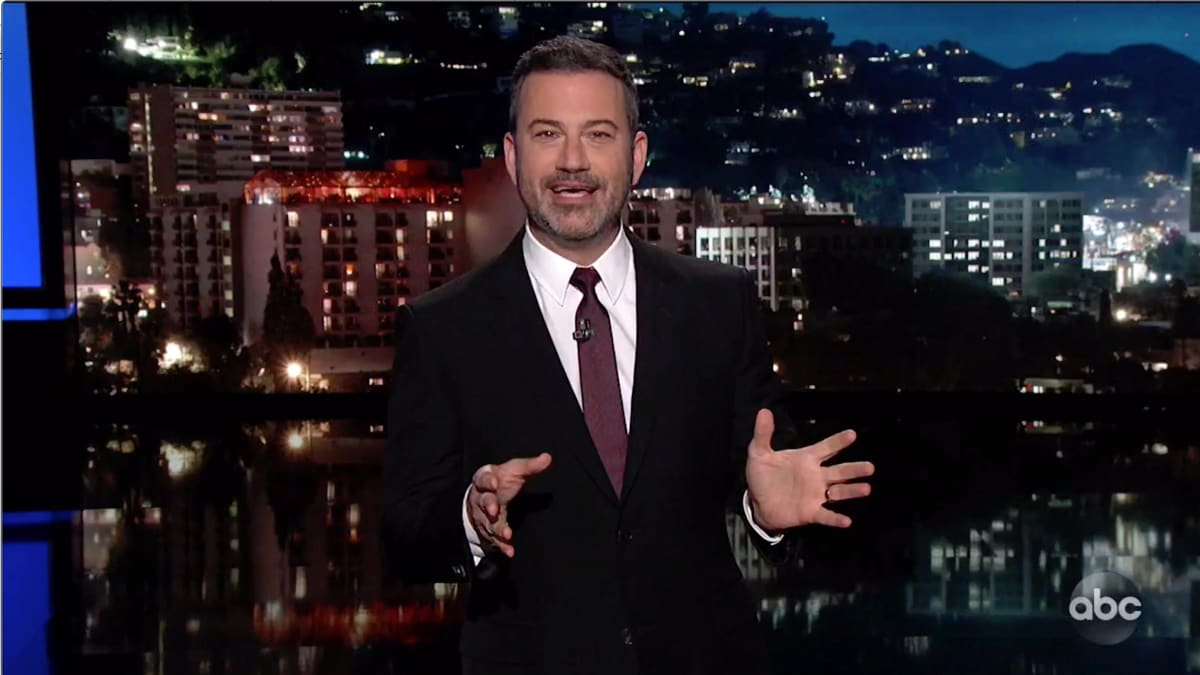 Jimmy Kimmel Calls Trump 'Flakiest Snowflake Ever' for Whining to Fox News