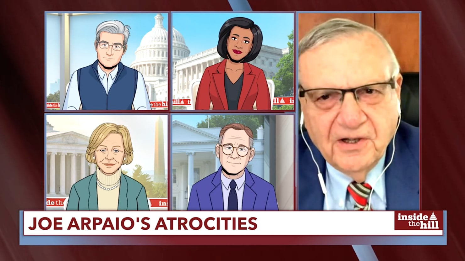 Joe Arpaio Gets Brutally Embarrassed by Colbert's 'Tooning Out the News'
