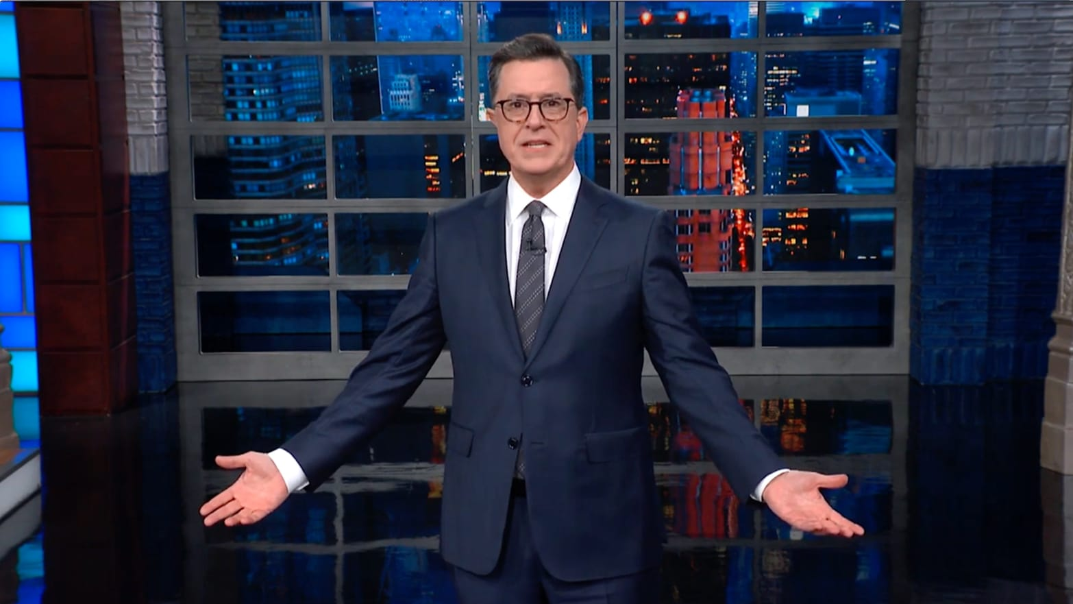 Stephen Colbert Exposes Trump's Weak Obstruction of Justice Defense