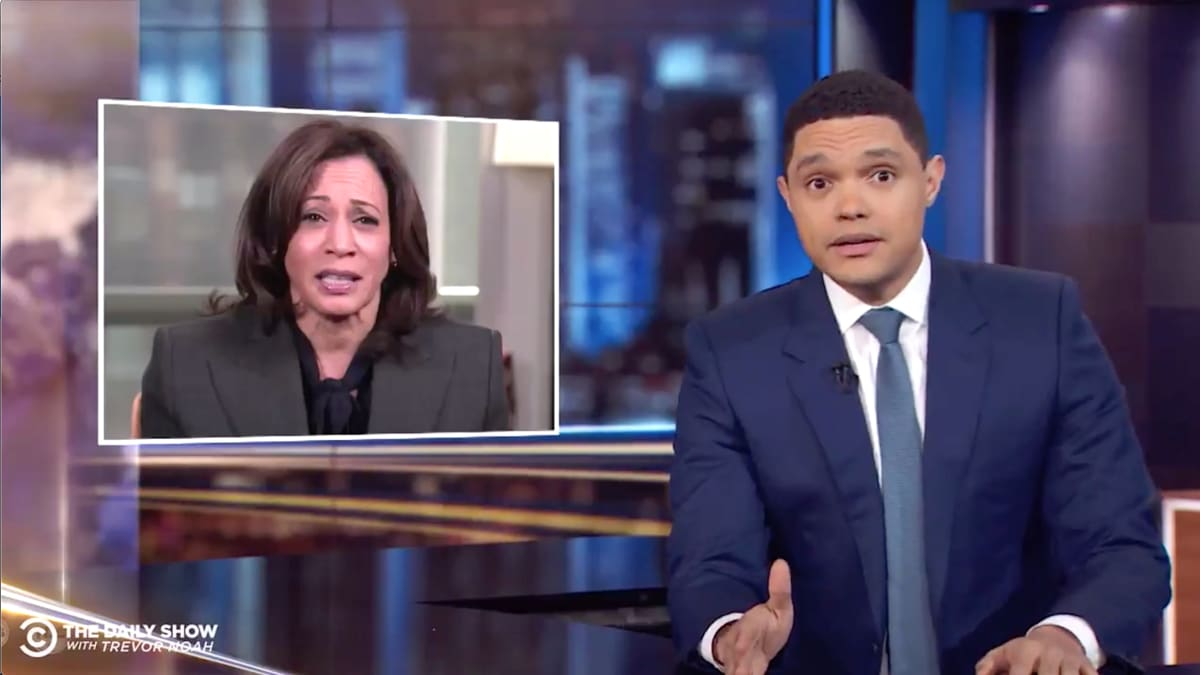 'Daily Show' Host Trevor Noah Sends Off Kamala Harris: Now Cory Booker's the 'Blackest Person in the Room'