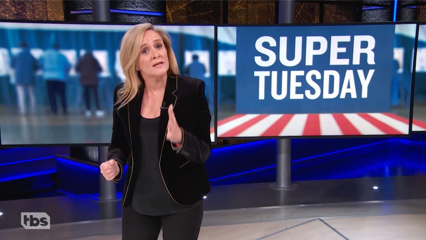 Samantha Bee Begs Bernie and Biden Supporters to Get Along After Super Tuesday