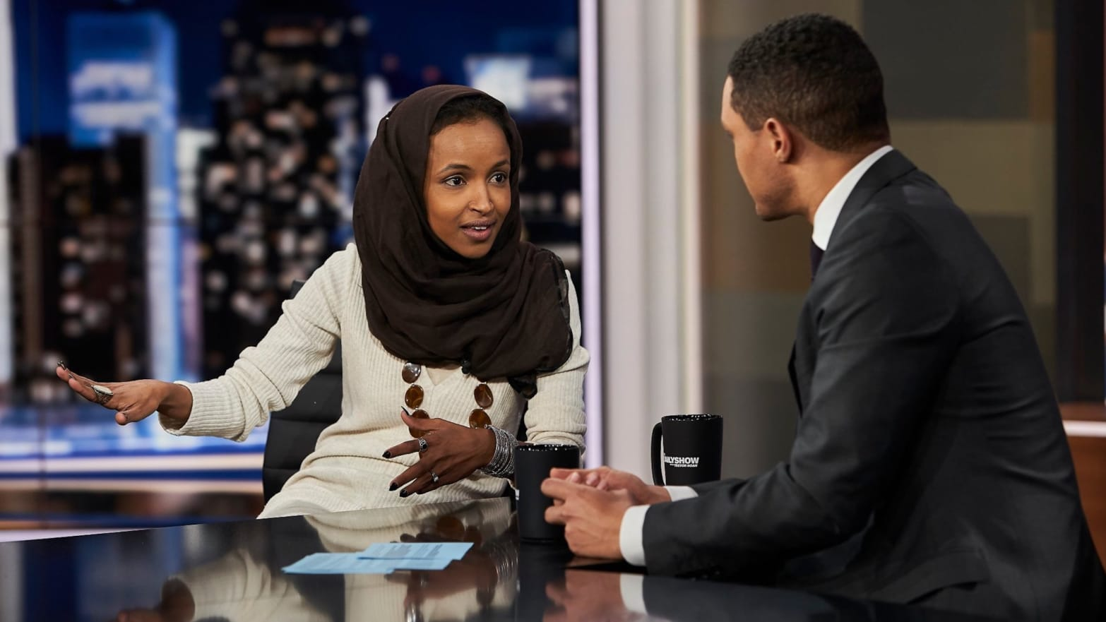 ilhan omar addresses anti