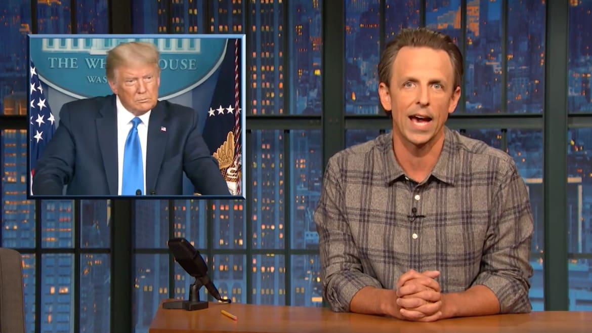 Seth Meyers Rips Democrats for Failing to Stop Trump's Election Threats