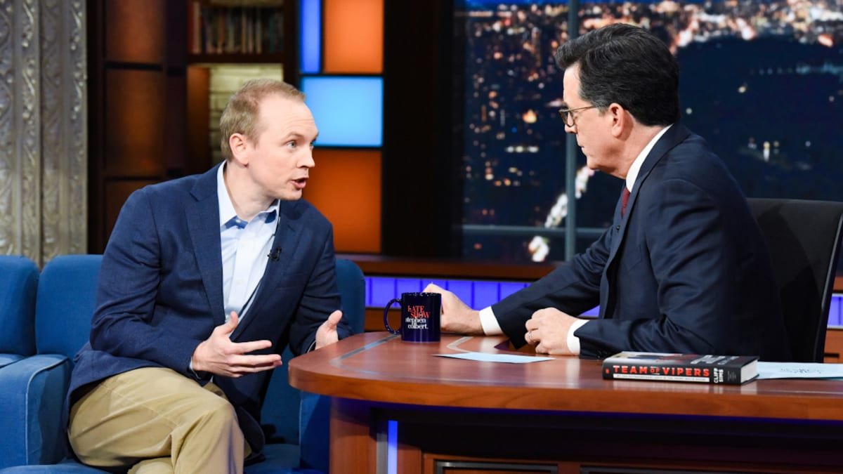 'Team of Vipers' Author Cliff Sims Tells Colbert Why Trump Will Never Fire Kellyanne Conway