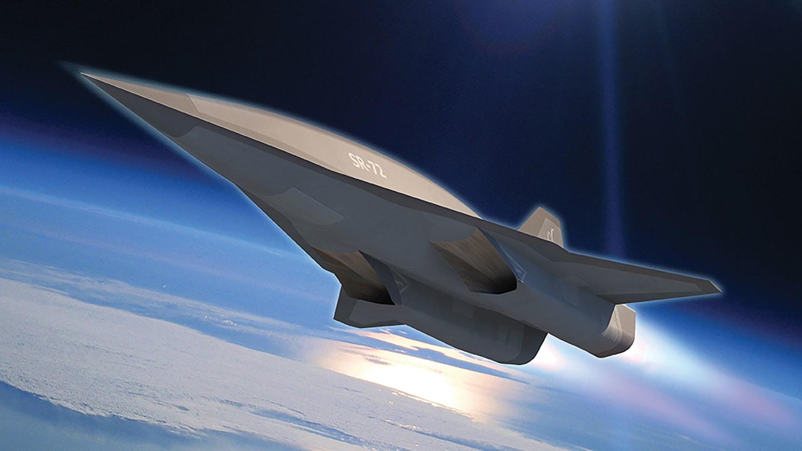 Secret 'Son of Blackbird' SR-72 Spy Plane Re-Emerges