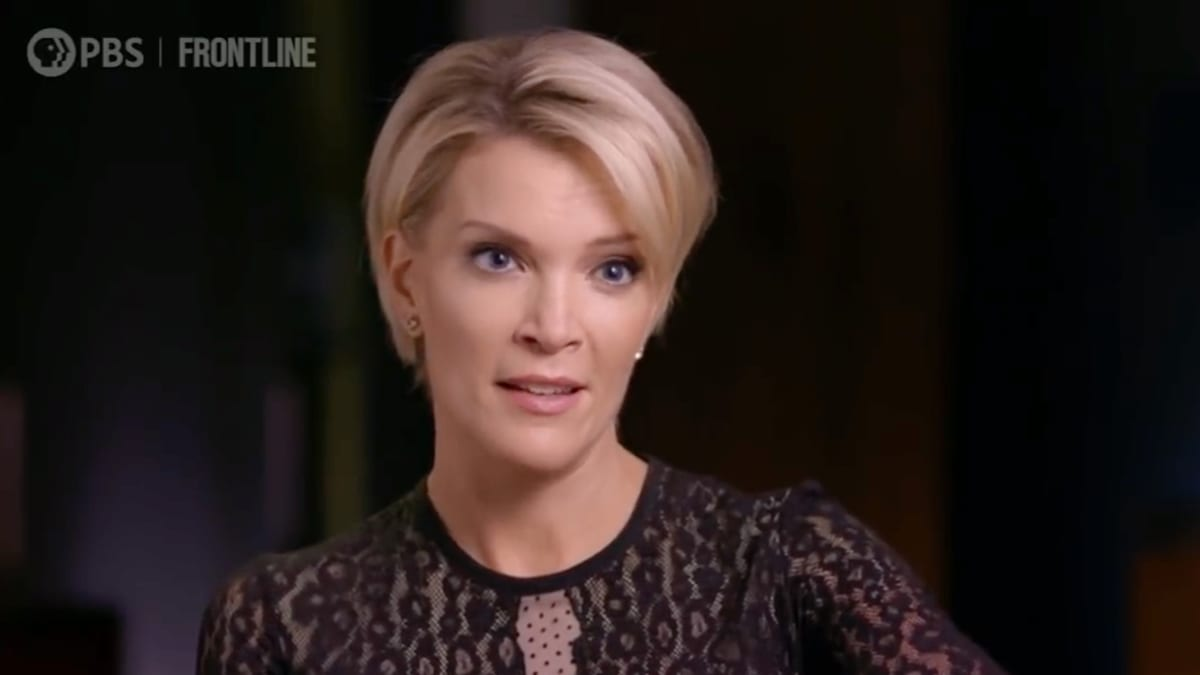 Megyn Kelly Calls Out Former NBC Colleagues in New 'Frontline' Interview