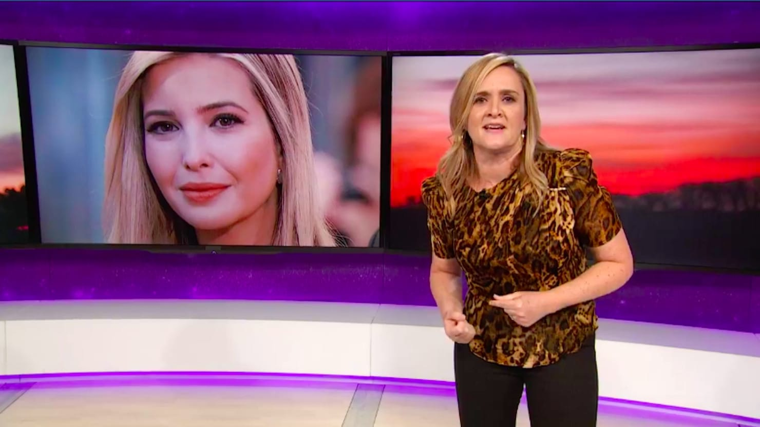 Image result for Full Frontal samantha bee ivanka trump