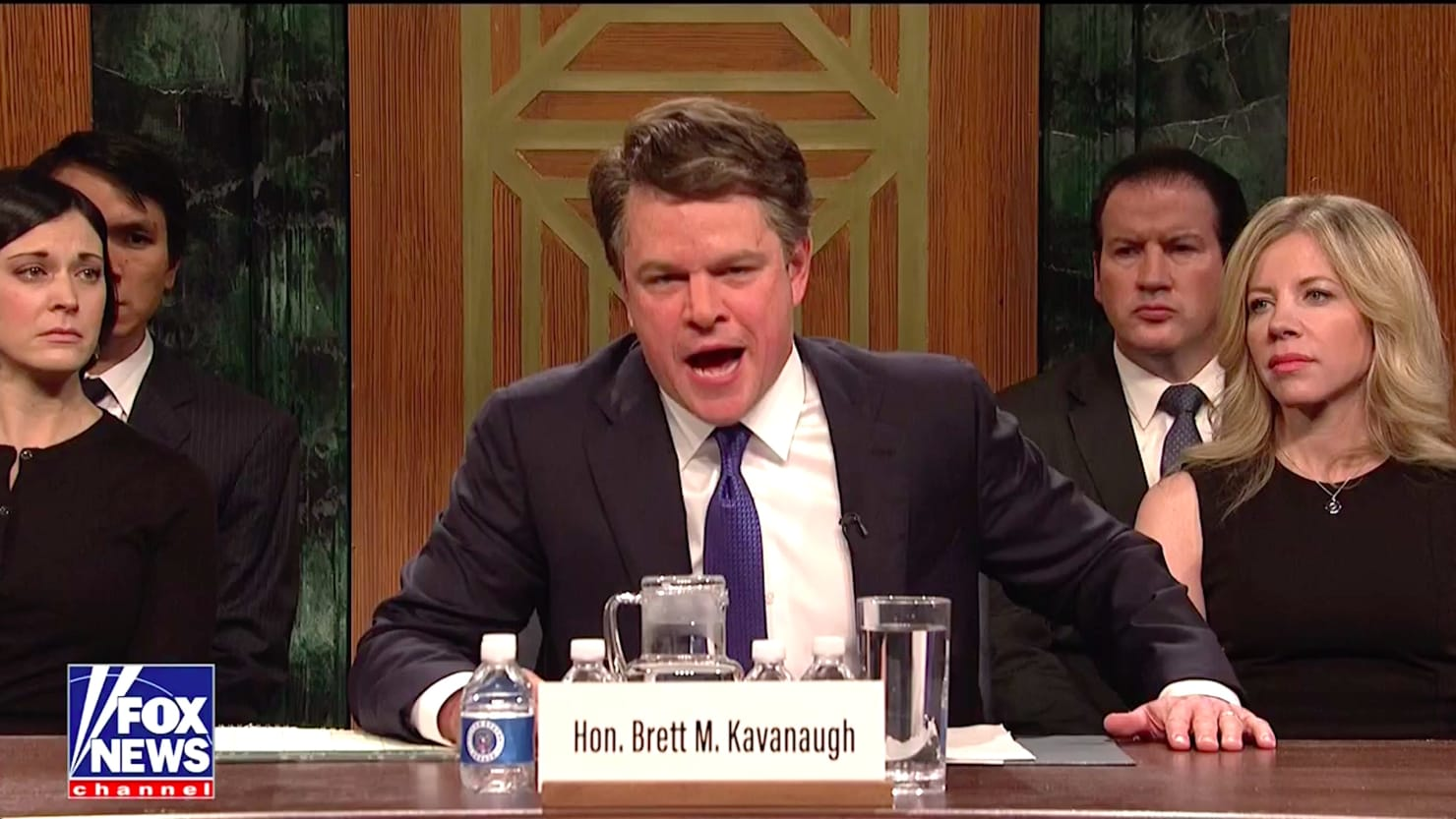 SNL: Matt Damon Absolutely Nails Brett Kavanaugh in Season Premiere