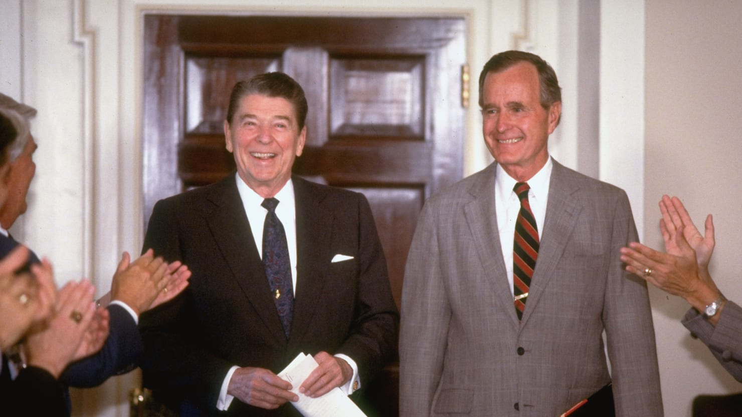 when george h.w. bush made up his mind to be the most loyal vice