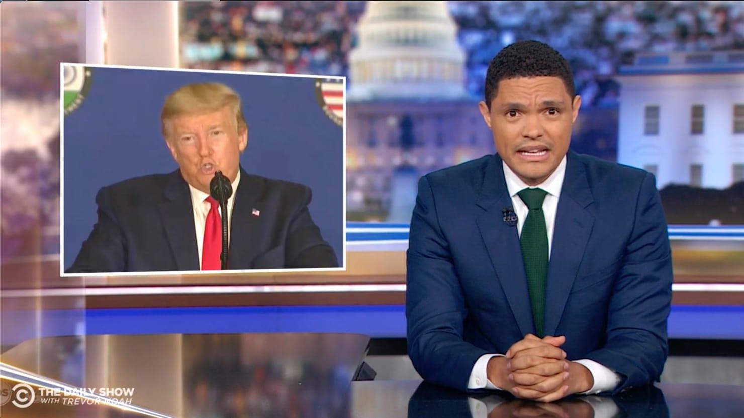 Trevor Noah Terrified by Trump's Coronavirus Response: 'We're Definitely All Going to Die'
