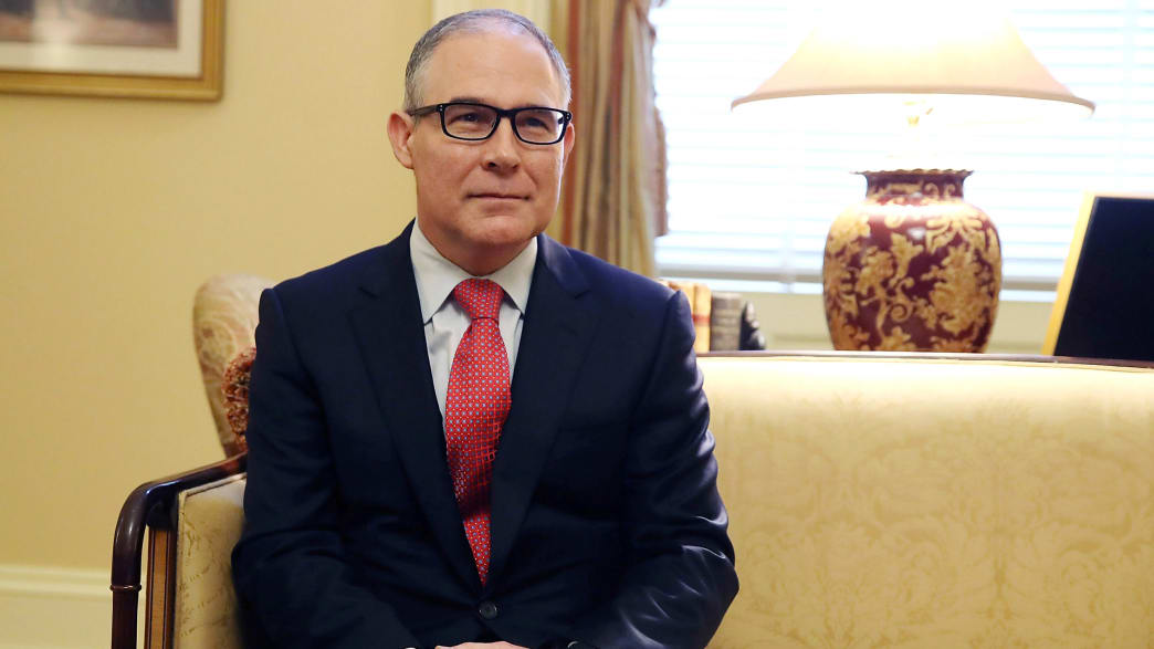 Trump's EPA Pick Blends Conservative Christianity With Anti-Environmental Activism