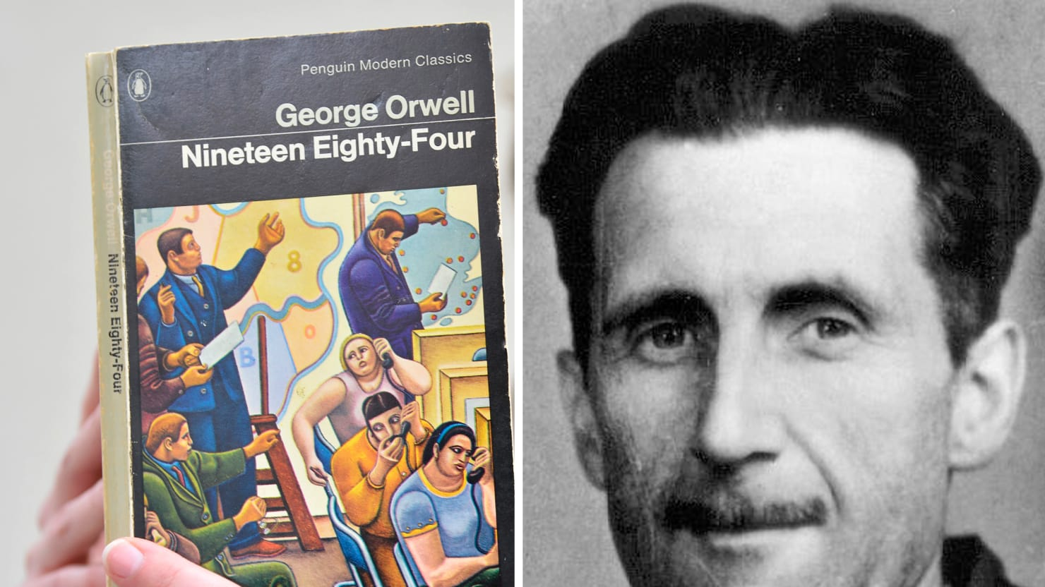 george orwell s letter on why he wrote  corbis