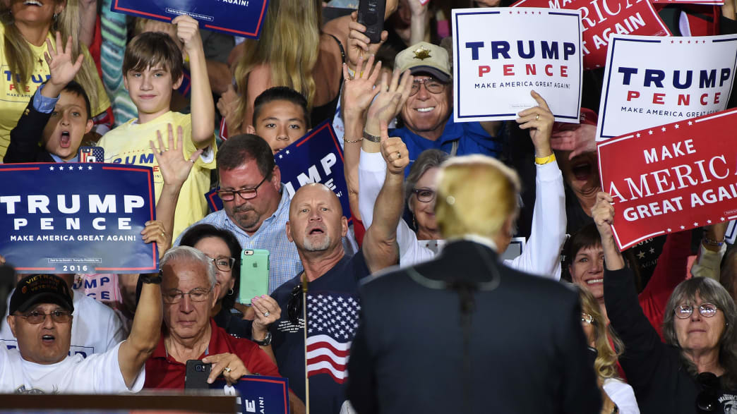 Hey, White Working Class, Donald Trump Is Already Screwing You Over