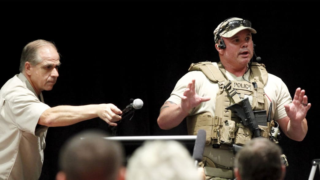 Exclusive: Inside the Texas 'Draw Muhammad' Event as Shots Rang Out