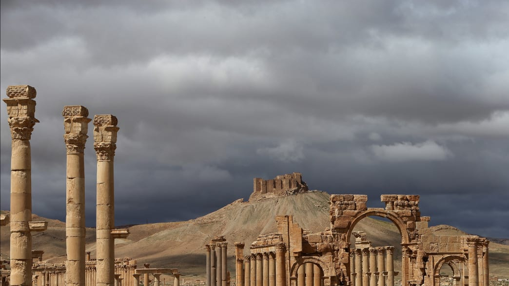 Inside Palmyra, the Ancient City ISIS Just Sacked