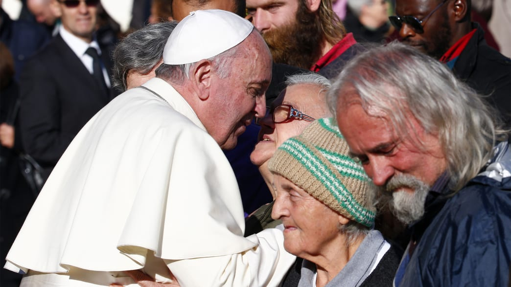 Pope Francis's Homeless Guests 'Are All Moving' to St. Peter's Square