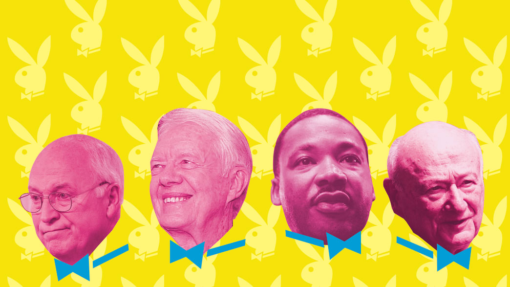 Politicians Who Bared All in Playboy