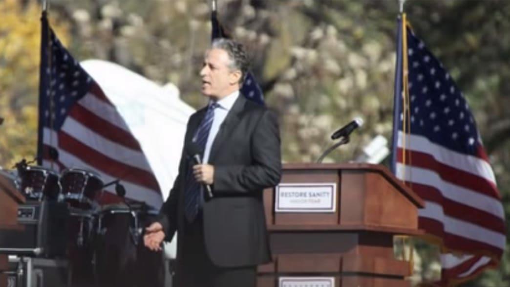 7 Moments When Jon Stewart Led America