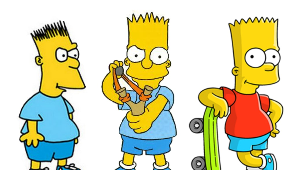 Growing Up With Bart Simpson
