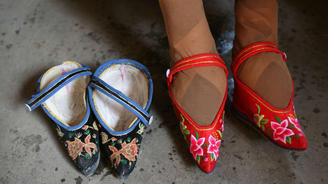 China S Last Foot Binding Survivors