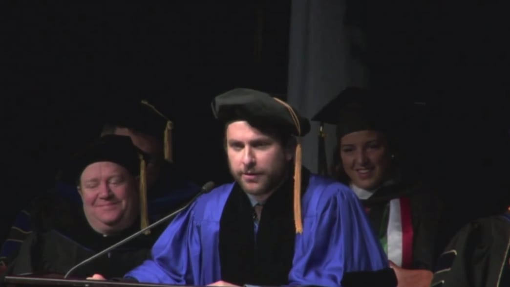 Viral Video of the Day: Charlie Day's Graduation Speech