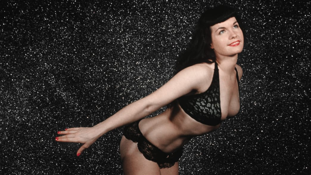'Bettie Page Reveals All,' A Close-Up Look at the Pinup Goddess and Sexual Icon