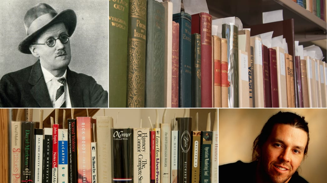 Writers and Their Libraries: What Books Did David Foster Wallace, James Joyce, and Evelyn Waugh Own? (PHOTOS)