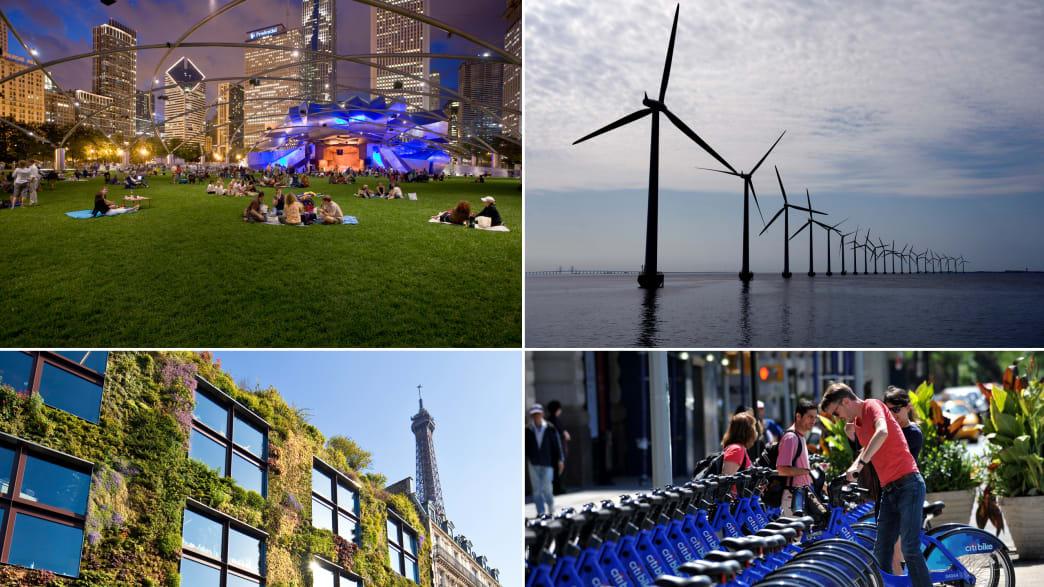 Cool Green Cities: Smart Projects in Copenhagen, Portland, Paris & More