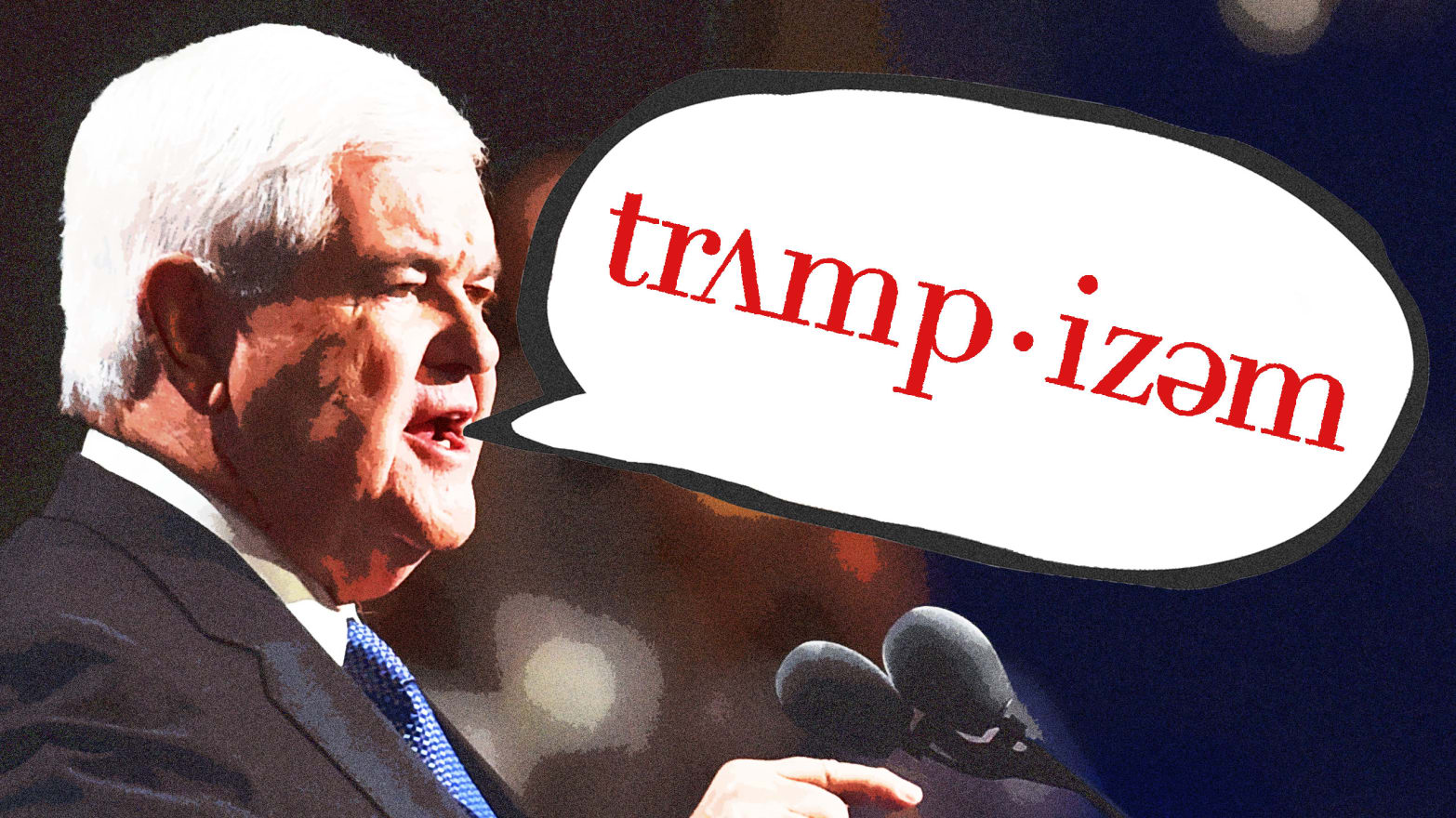 Newt Gingrich Explains the 'Philosophical Roots' of 'Trumpism'