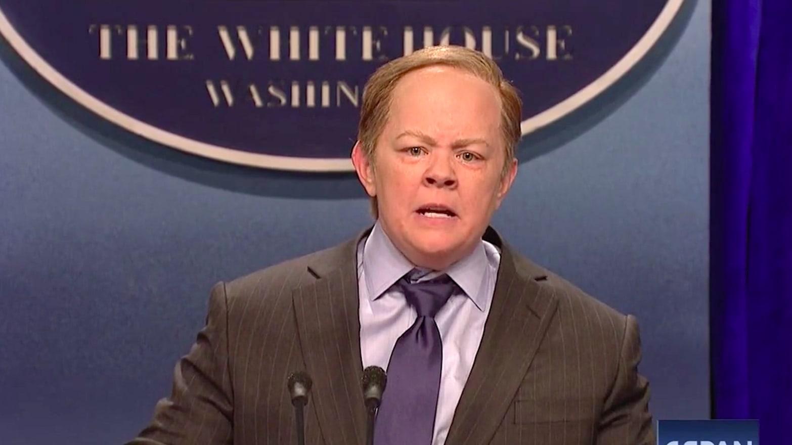 uk áruház venni üzlet eladó Melissa McCarthy's Sean Spicer Rules SNL: 'I Came Out Here to ...