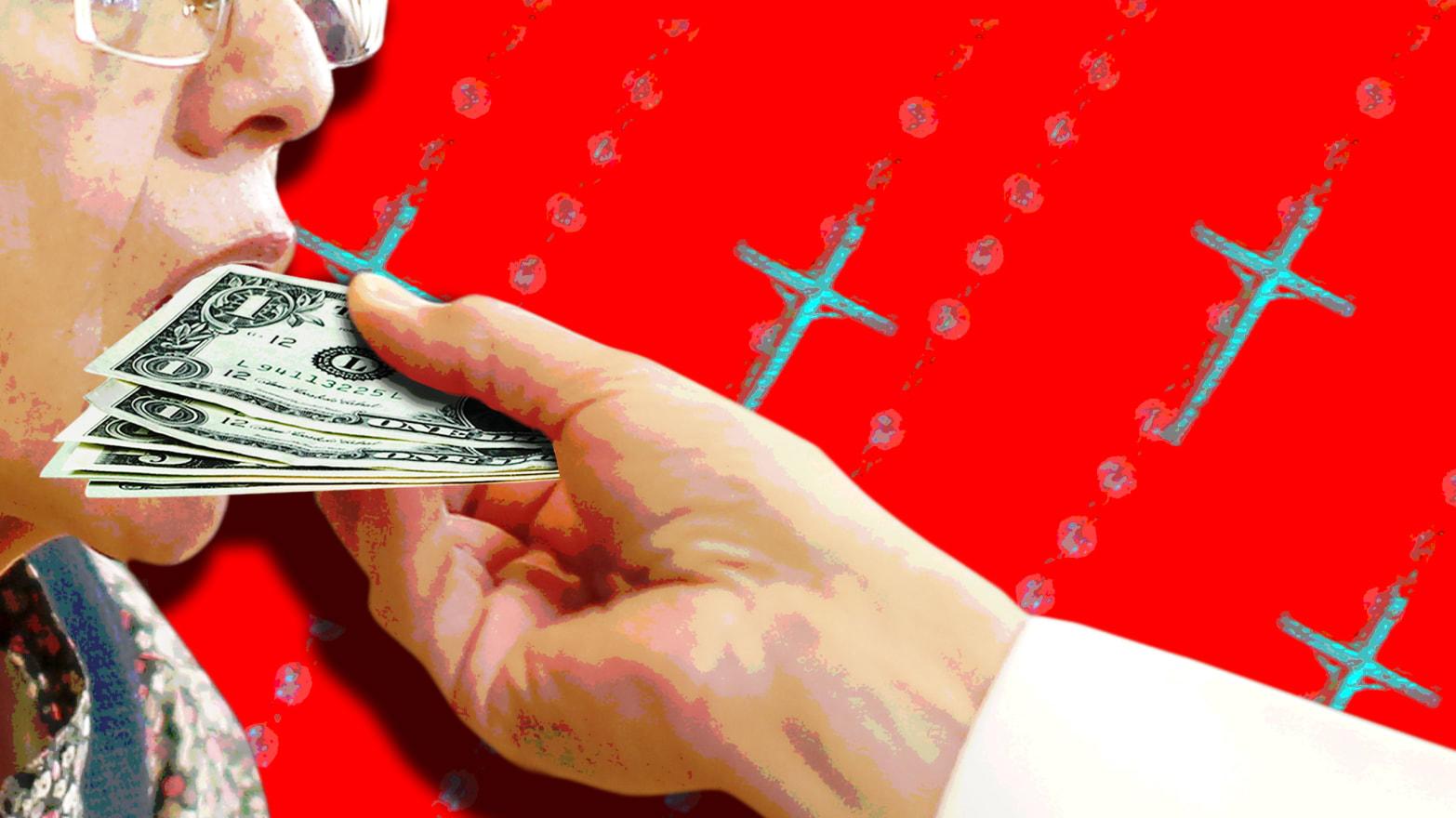 The Priest Talked Money