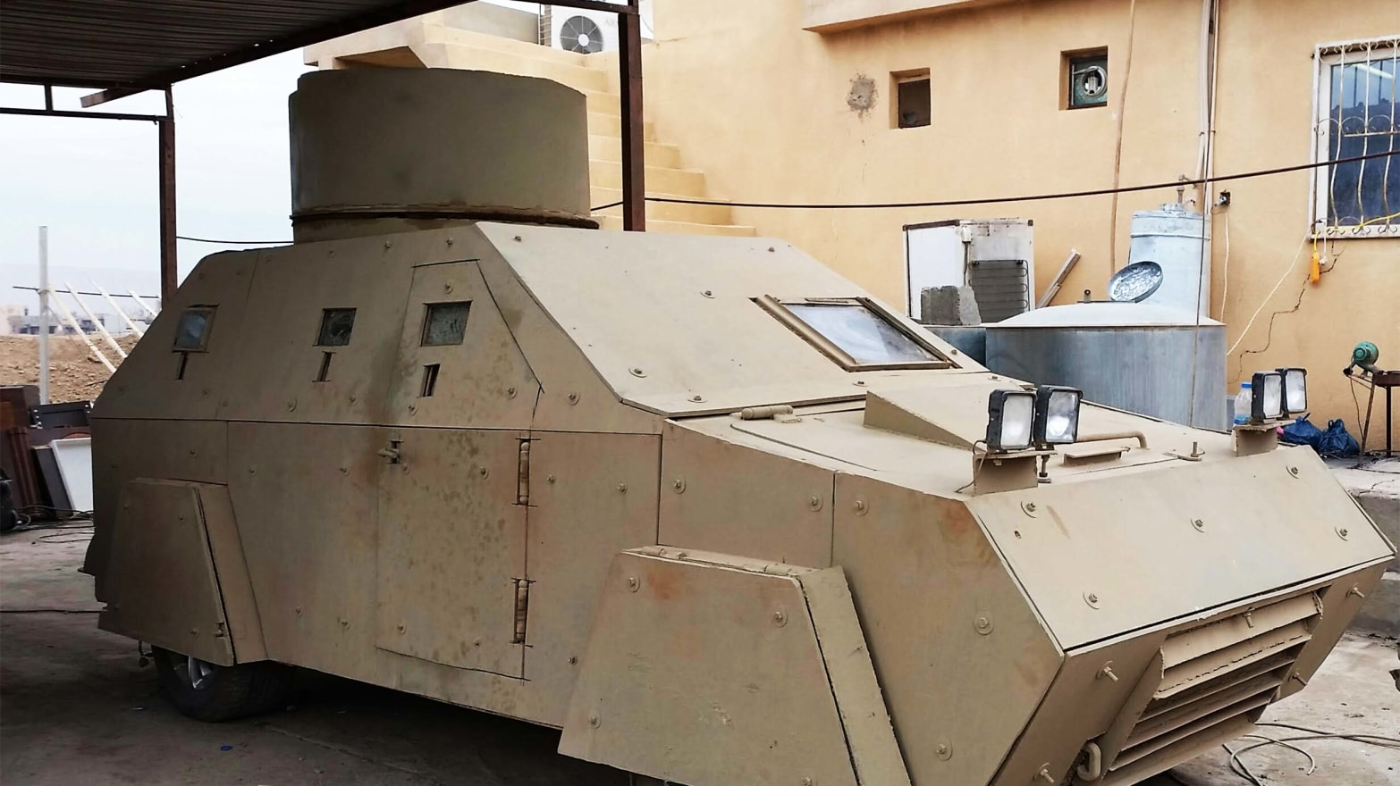 Monster Machines: ISIS's Armored War Jeeps Are Professional Grade