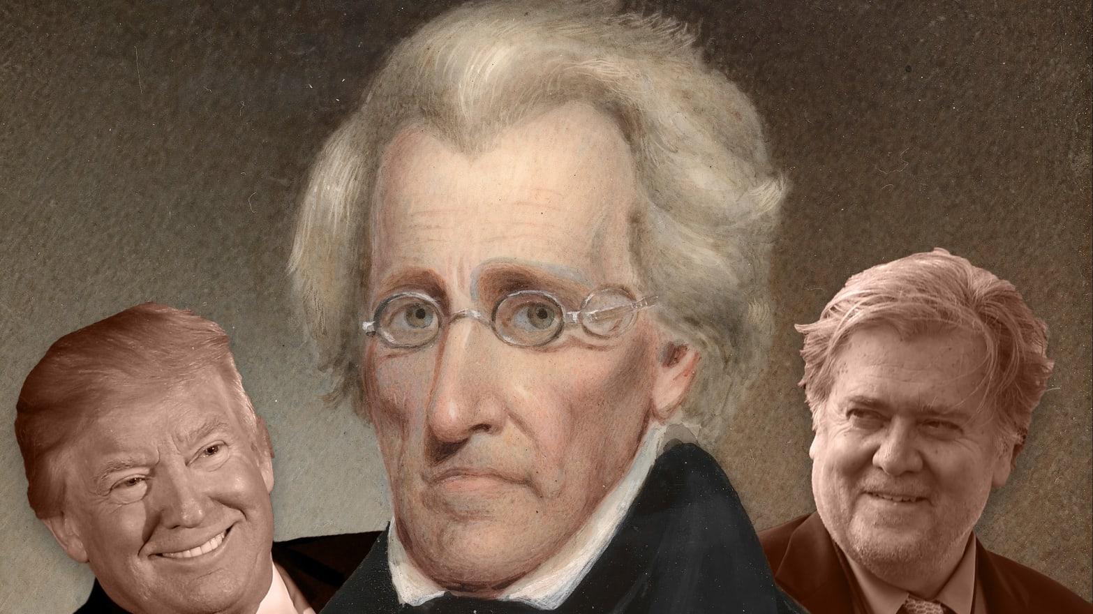 Steve Bannon Pushed Trump To Go Full Andrew Jackson