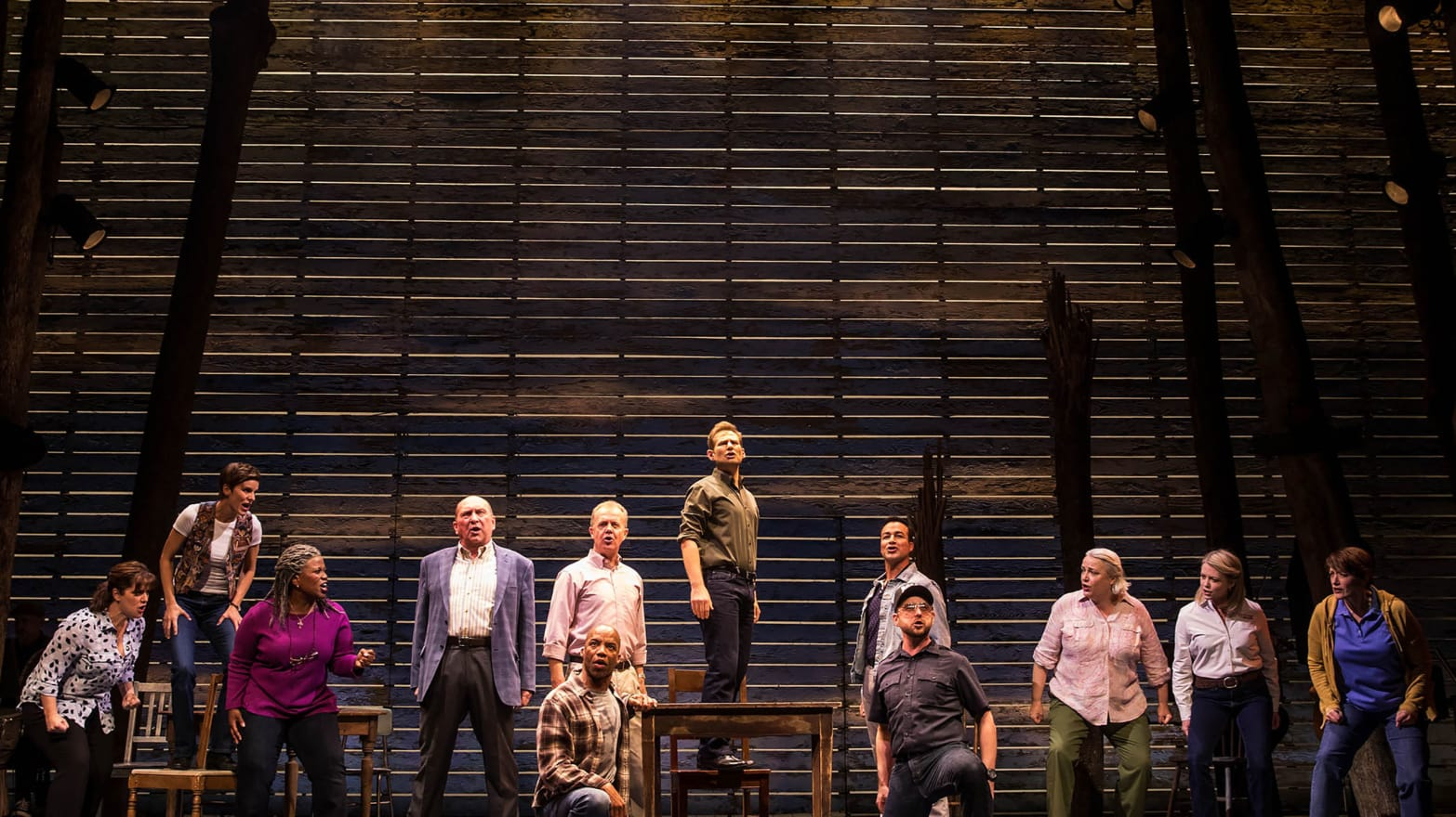 Review: How 'Come From Away' Makes a Broadway Musical Out of
