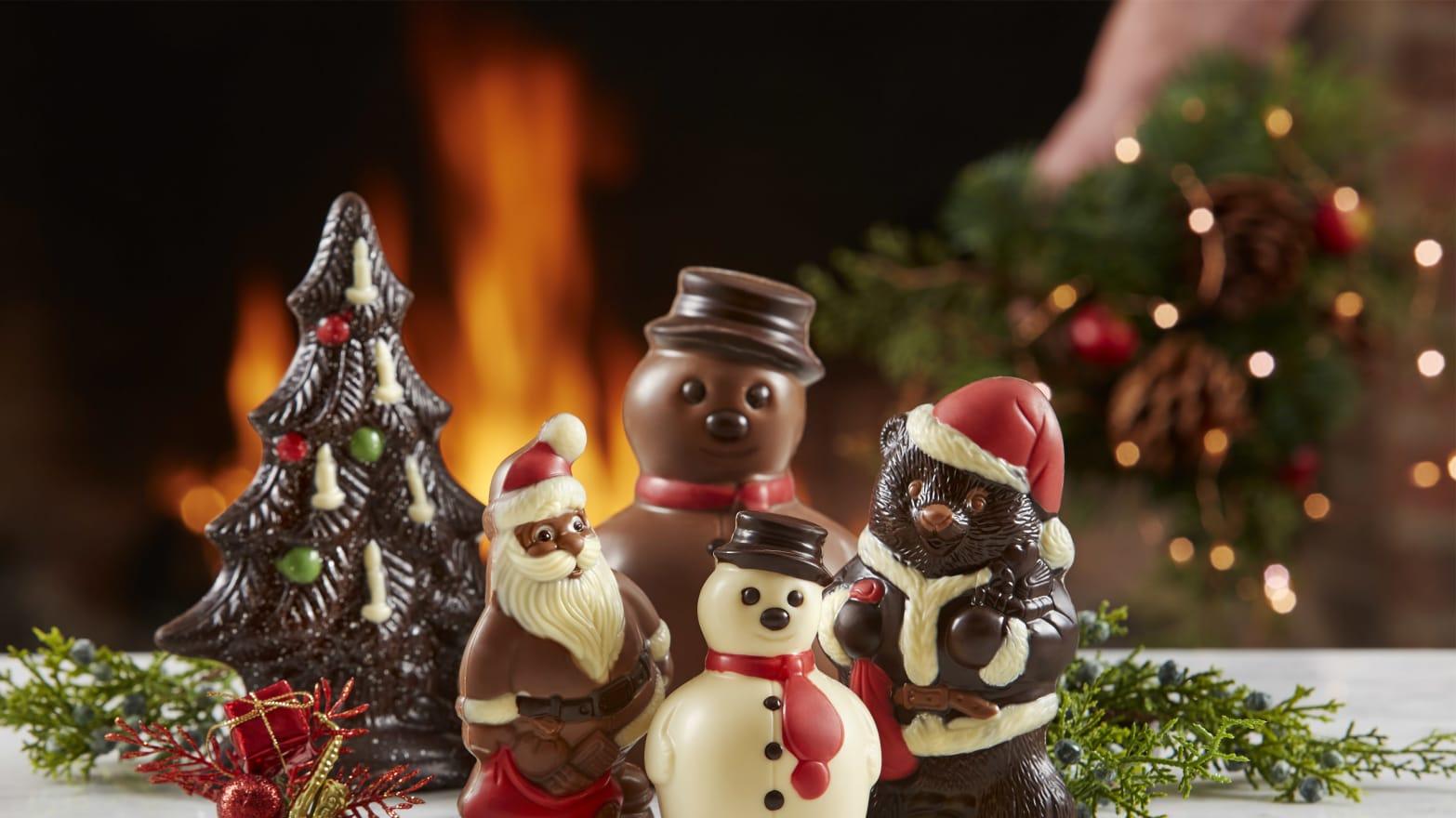 Christmas Hannakah.Gourmet Chocolate Gifts For Christmas Hanukkah