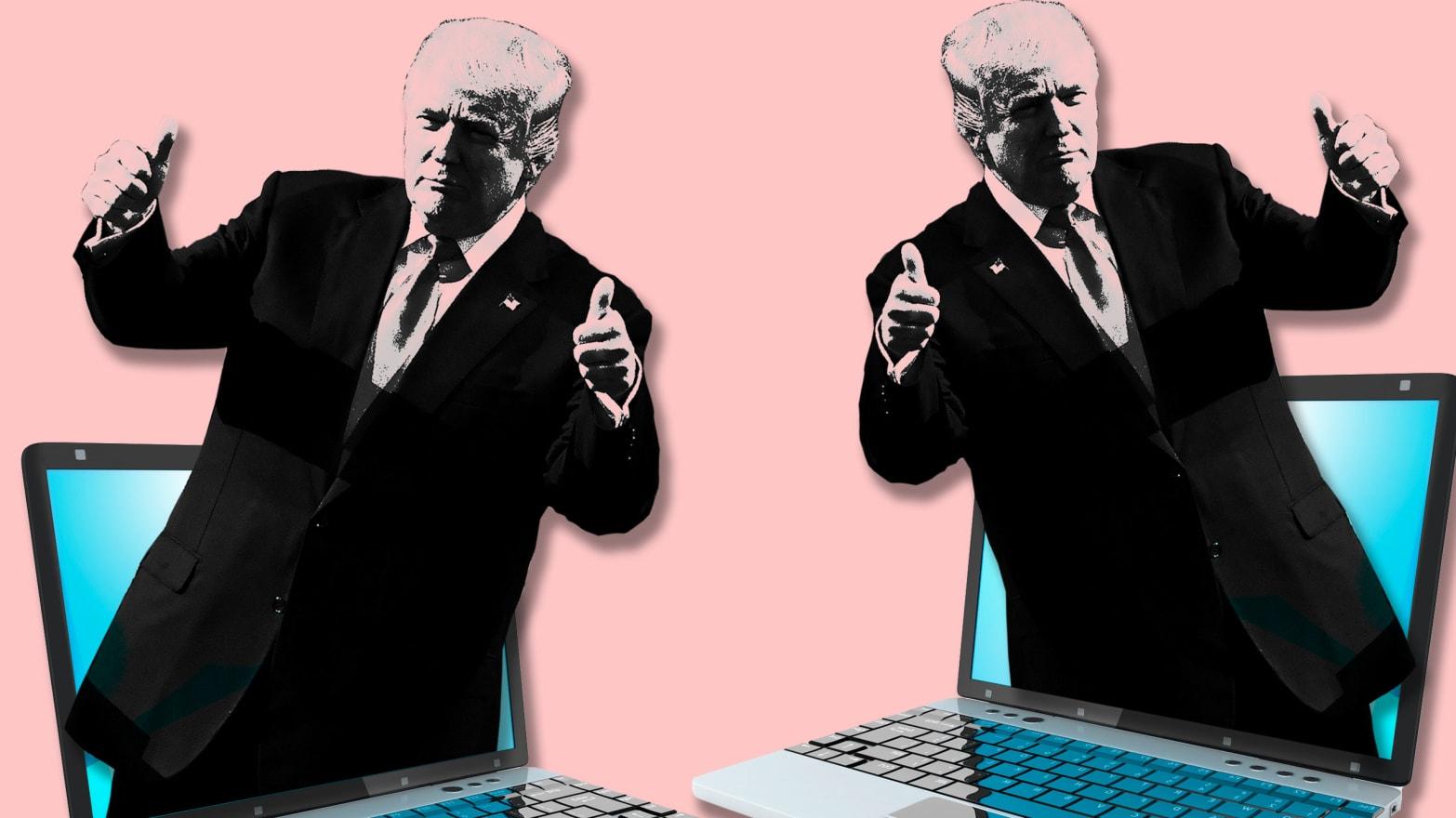 How Pro-Trump Twitter Bots Spread Fake News