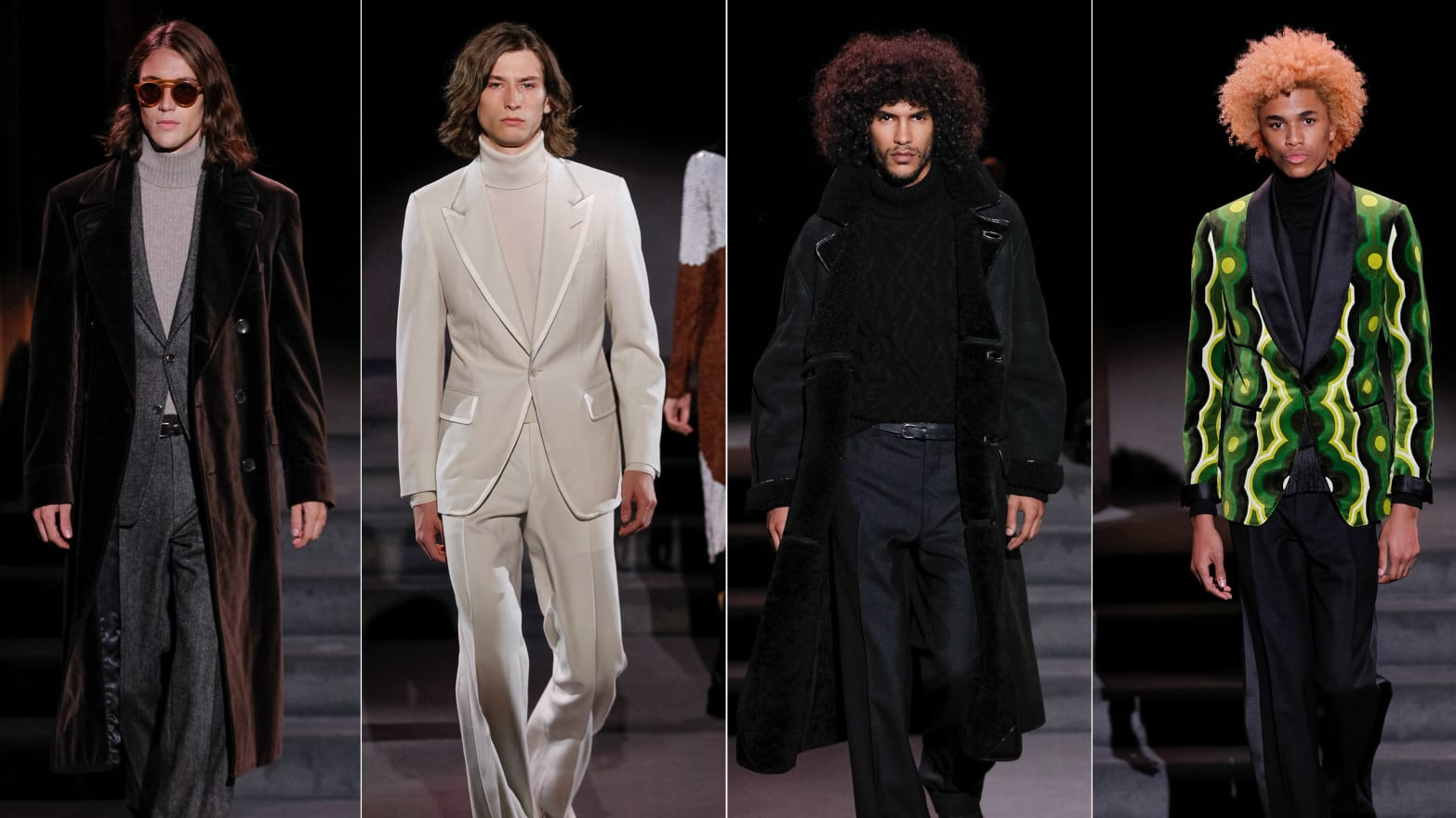 Designer Tom Ford Takes the Digital Fast Lane With a Collection ... 69e0ab7f95d9