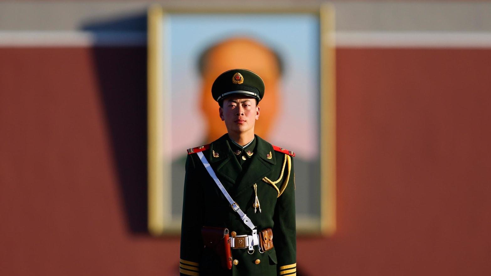 Teen girls in Mao