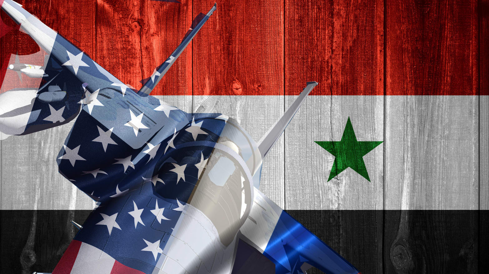 U.S. and Russian Jets Clash Over Syria
