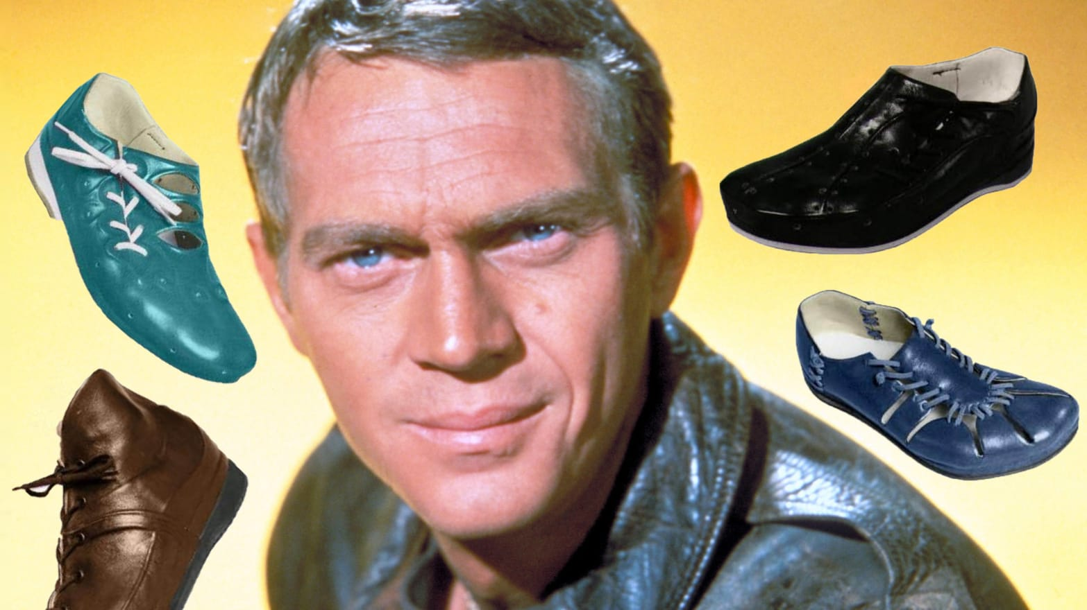 Did Steve McQueen Really Wear Those Geeky Murray Space Shoes?