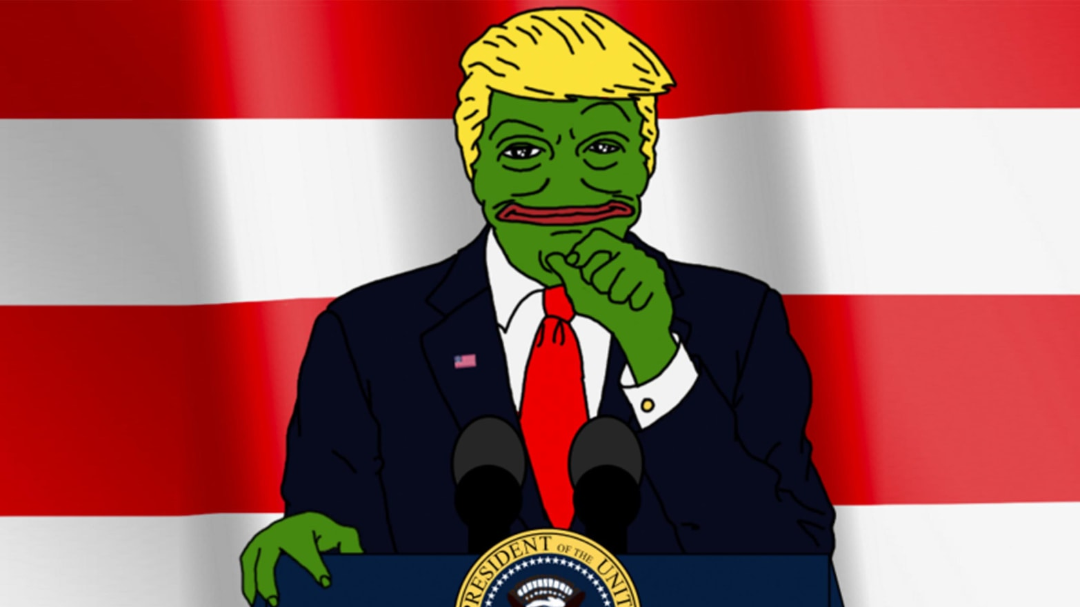 How Pepe the Frog Became a Nazi Trump Supporter and Alt-Right Symbol