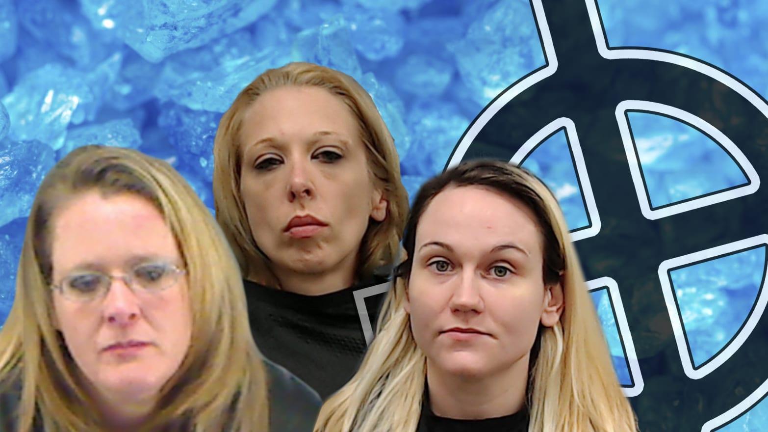 Feds: Aryan Brotherhood Meth Ring Was Run by Women