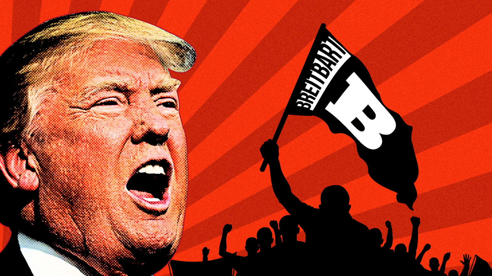 How Breitbart Unleashes Hate Mobs to Threaten, Dox, and Troll Trump