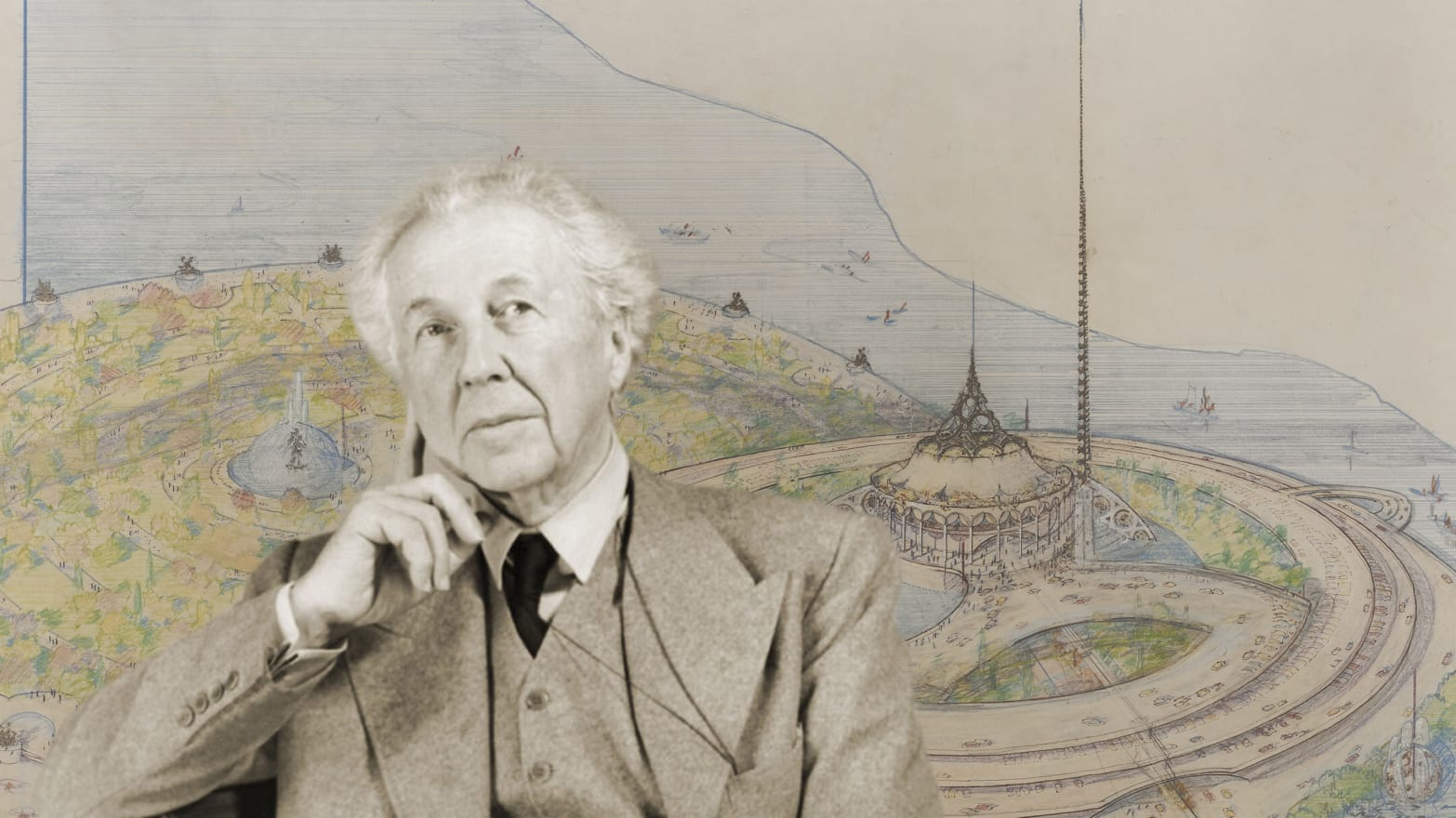Why Frank Lloyd Wright's Baghdad Opera House Never Came To Be