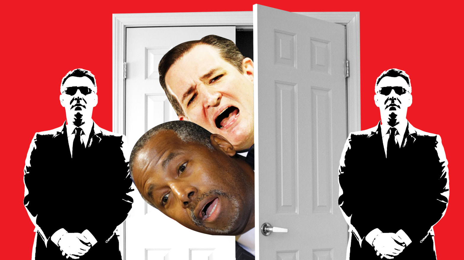 Cruz Carson Held Secret Meeting About Dirty Tricks In A Closet
