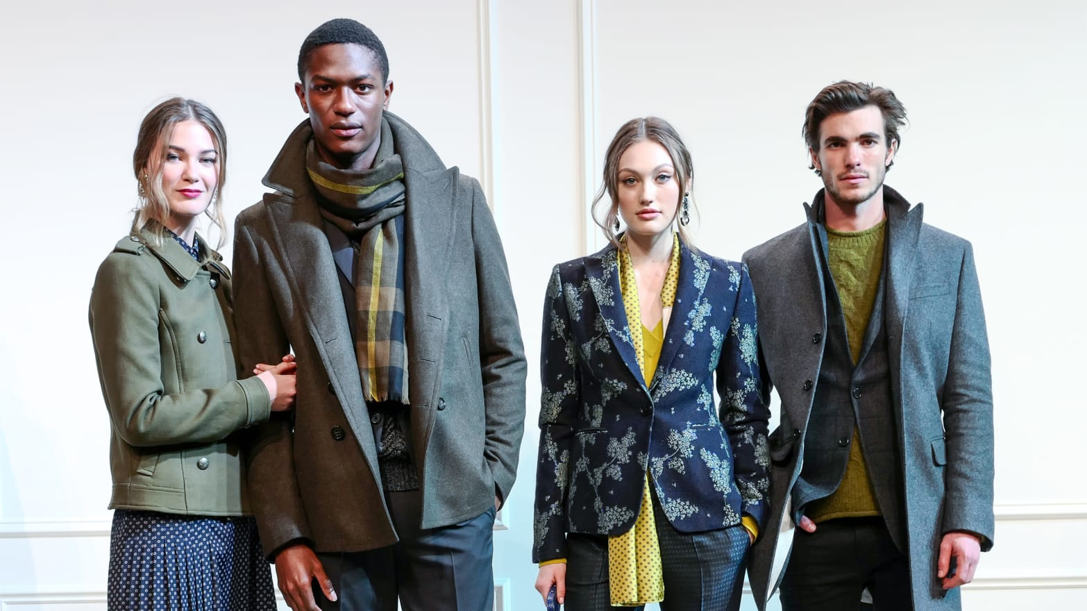 e801647049 How Banana Republic Made Fashion Week Warm and Fuzzy