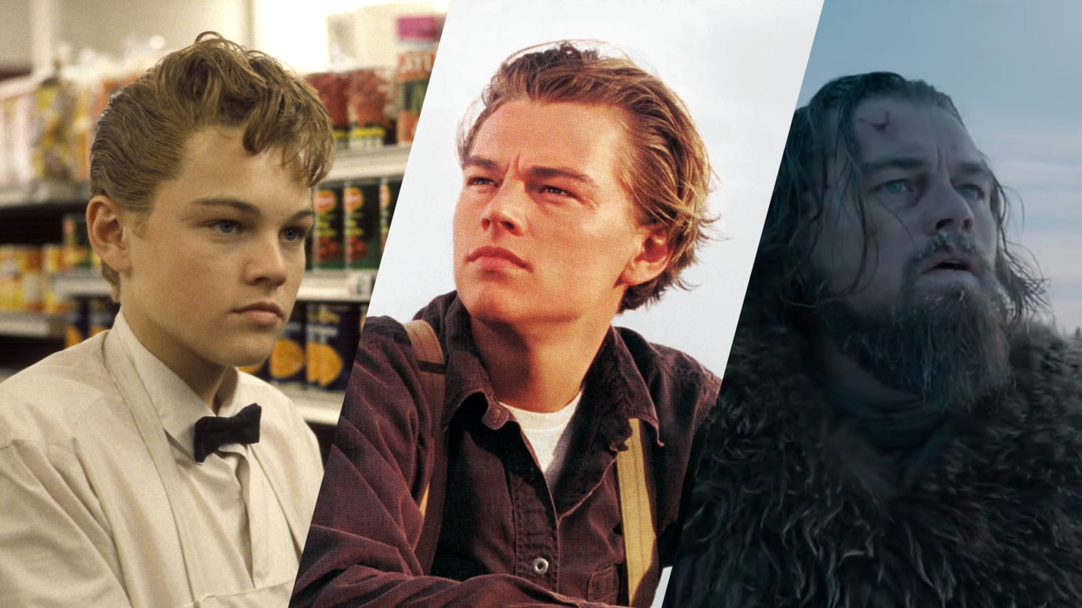 Leonardo Dicaprio Over The Years From Growing Pains To The Revenant