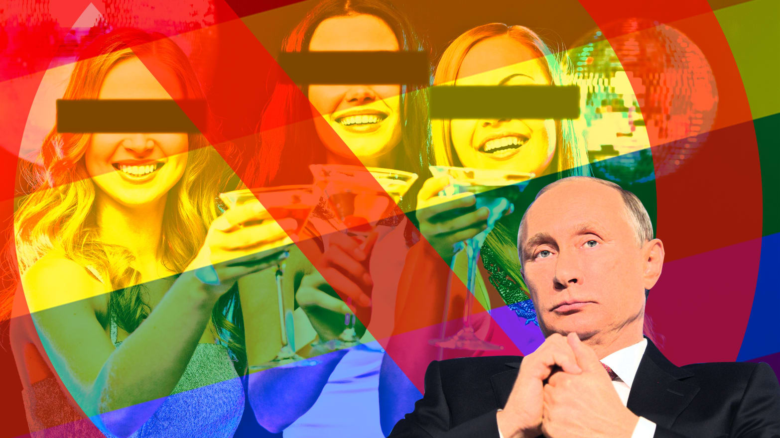 It's Legal to Steal a Gay Bar in Moscow Now