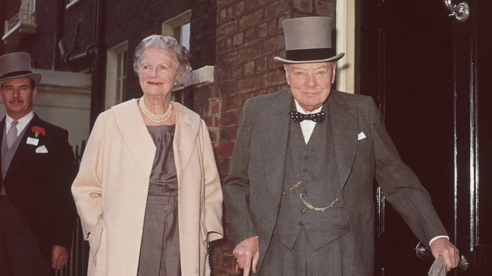 Winston Churchill S Wife Made Him Great